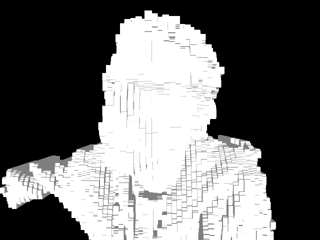 Playing with the Kinect in Processing