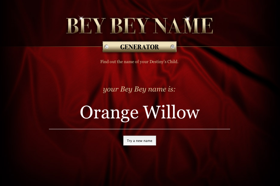 beybeyname.com screenshot